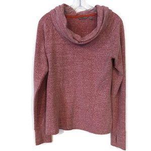 Athleta Marled Cowl Neck Sweatshirt
